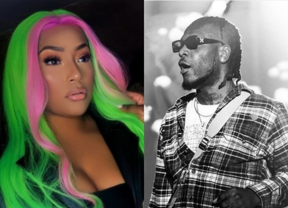 Confirmed: Burna Boy dating Stefflon Don  – Everythingg Some